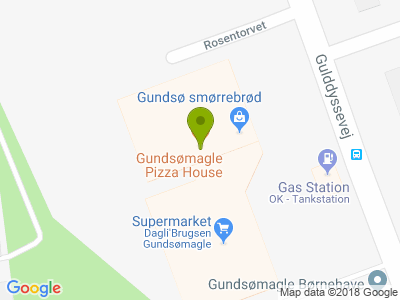 Gundsomagle Pizza House - Kort