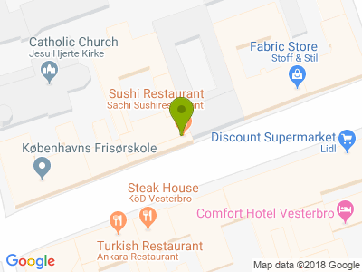 Sachi Sushi Restaurant - Kort