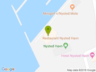 Restaurant Nysted Havn - Kort