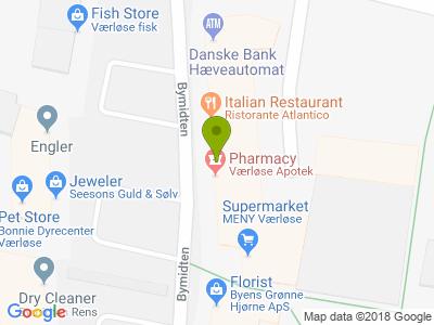 Restaurant Atlantico - Kort