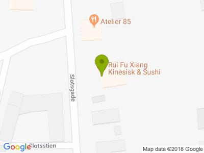 Rui Fu Xiang Kinesisk & Sushi Restaurant - Kort