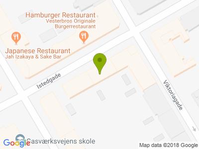 Neighbourhood pizza istedgade - Kort