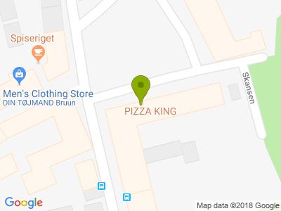 Pizza King - Kort