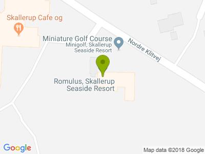 Skallerup Cafe og Restaurant - Kort