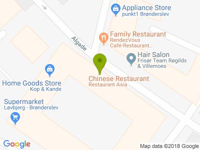 Restaurant Asia - Kort