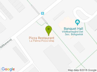 La Palma Pizz - Kort