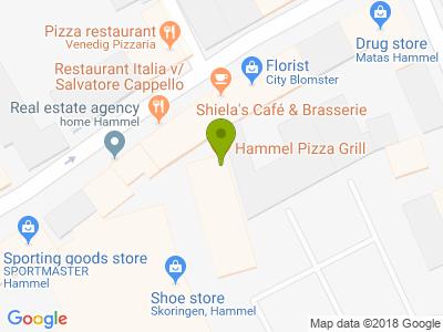 Hammel Pizza Grill - Kort