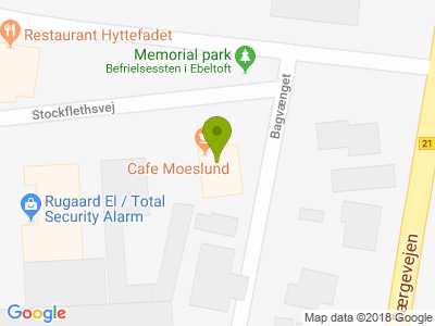 Cafe Moeslund - Kort