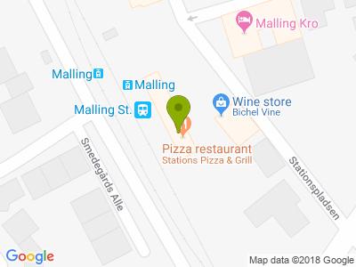 Stations Pizza & Grill - Kort