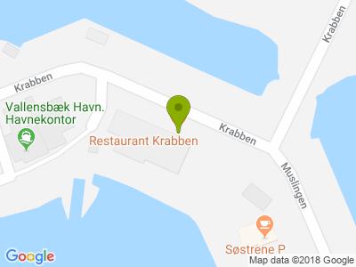 Restaurant Krabben - Kort