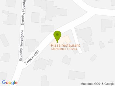 Gianfranco's Pizza - Kort
