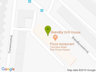 Brøndby Grill House - Kort