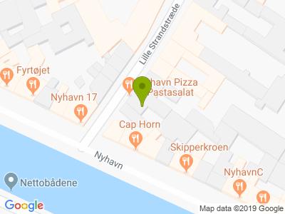 Nyhavn Pizza & Pastasalat - Kort