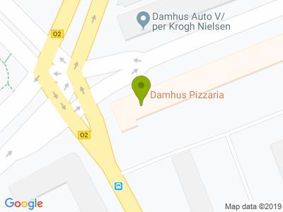 Damhus Pizzaria - Kort