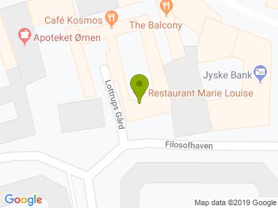 Restaurant Marie Louise - Kort