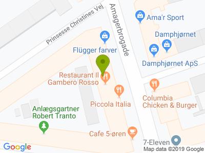Restaurant Il Gambero Rosso - Kort