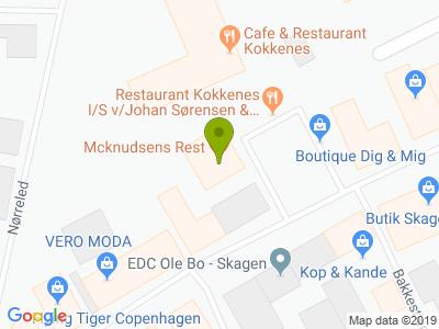 Mcknudsens Rest. - Kort