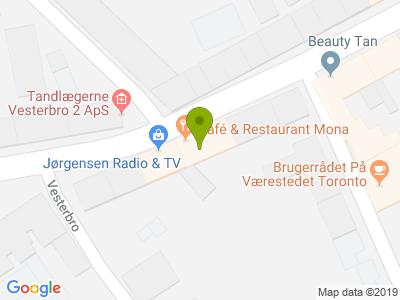 Café & Restaurant Mona - Kort