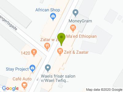 Eritreansk & Etiopisk Restaurant - Kort