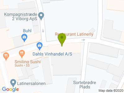 Restaurant Latinerly - Kort
