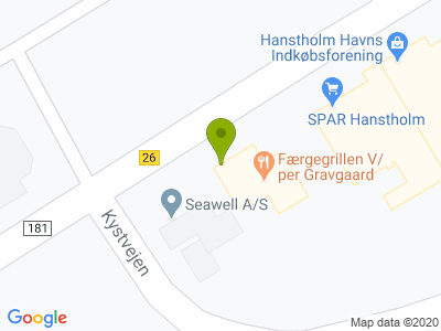 Færgegrillen V/per Gravgaard - Kort
