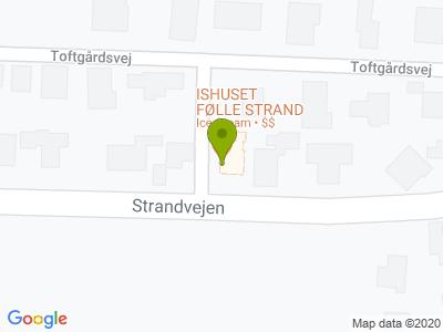 Ishuset Følle Strand - Kort