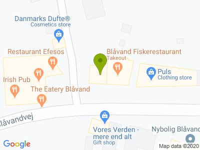 Blåvand Fiskerestaurant - Kort