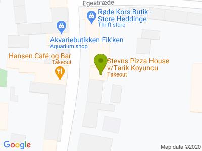 Stevns Pizza House - Kort