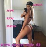 escort massage - AMBER real picture  billede