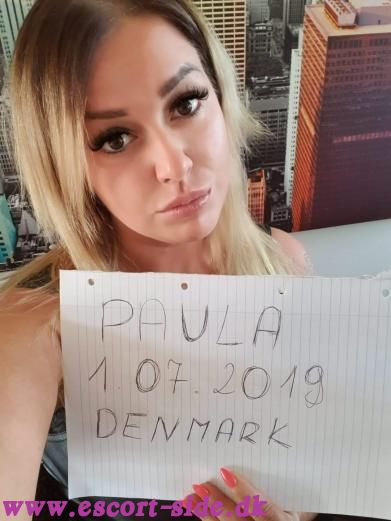 escort massage - Paula Anal billede