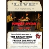 Crawdaddy Blues Band Summer Special at the Barley Mow