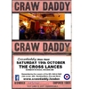 Crawdaddy Blues Band at the Cross Lances for their second visit of 2019