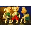 The Three Little Pigs plus Captain Grimey