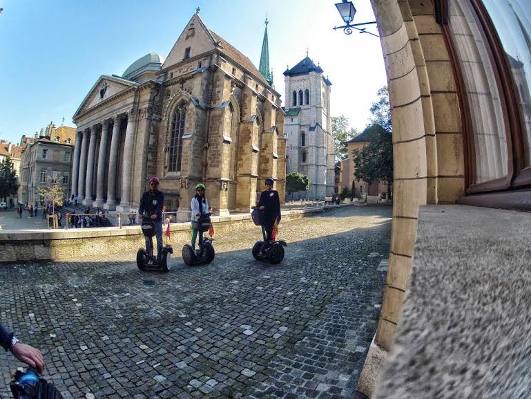 Segway Tour - Genfer Altstadt - Genève