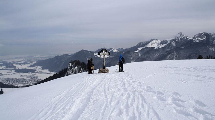 Schneeschuhtour Chiemsee - München - 2