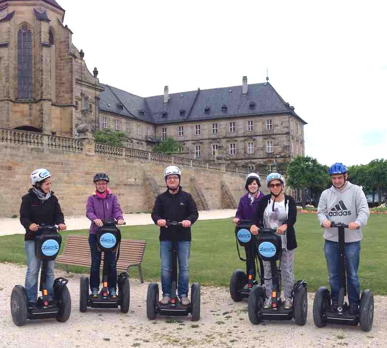 Segwaytour durch die Altstadt - Pettstadt bei Bamberg