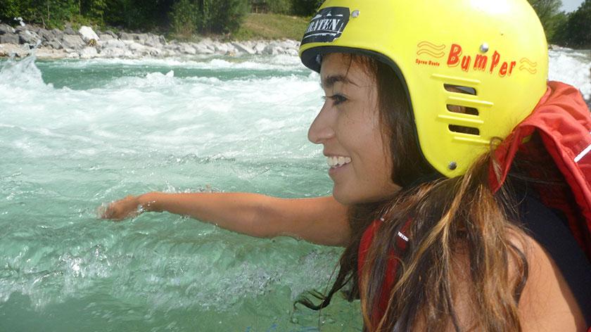 Rafting auf der Isar - München