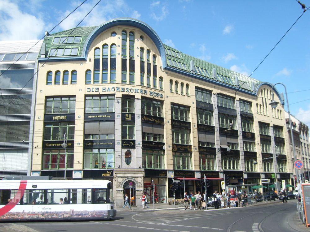 Scheunenviertel Hackesche Höfe - Berlin