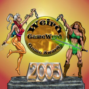 Weird GameWyrd Game Awards Wyrd Winners 2005