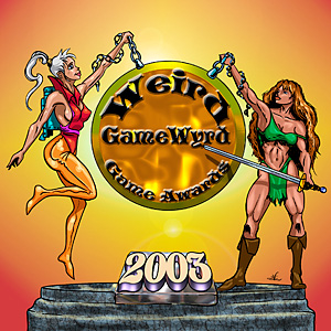 Weird GameWyrd Game Awards Wyrd Winners 2003