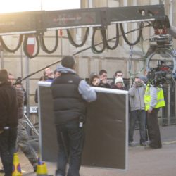 Photographs from the set of Torchwood