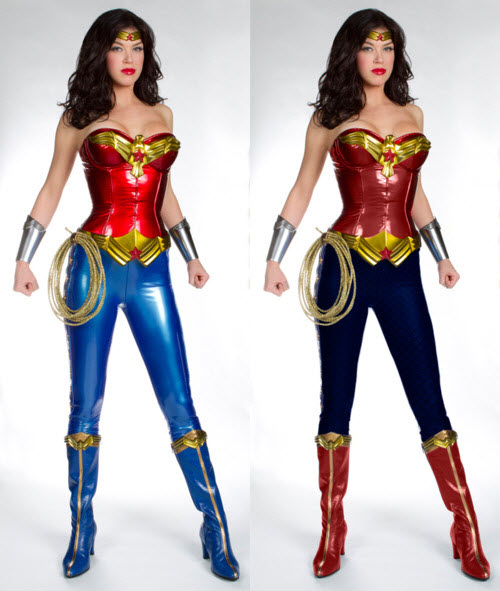 alternative wonder woman costume colour tweak. Black Bedroom Furniture Sets. Home Design Ideas