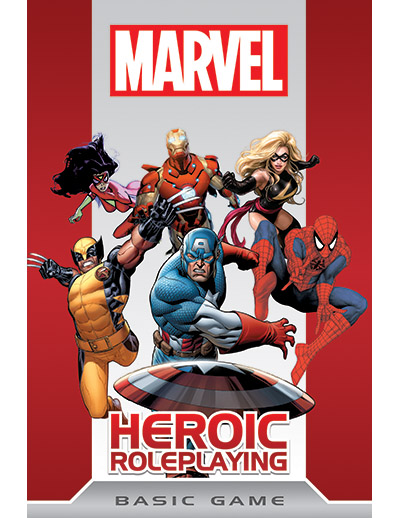 Buy the Marvel Heroic Roleplaying: Basic Game