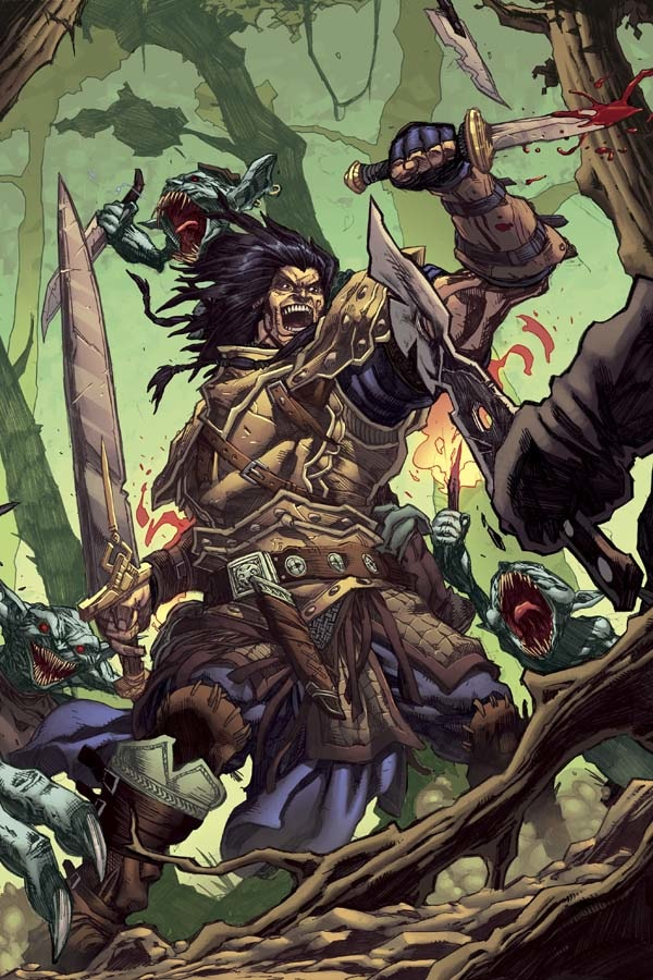 Interview with Jim Zub, lead writer for the Pathfinder comics