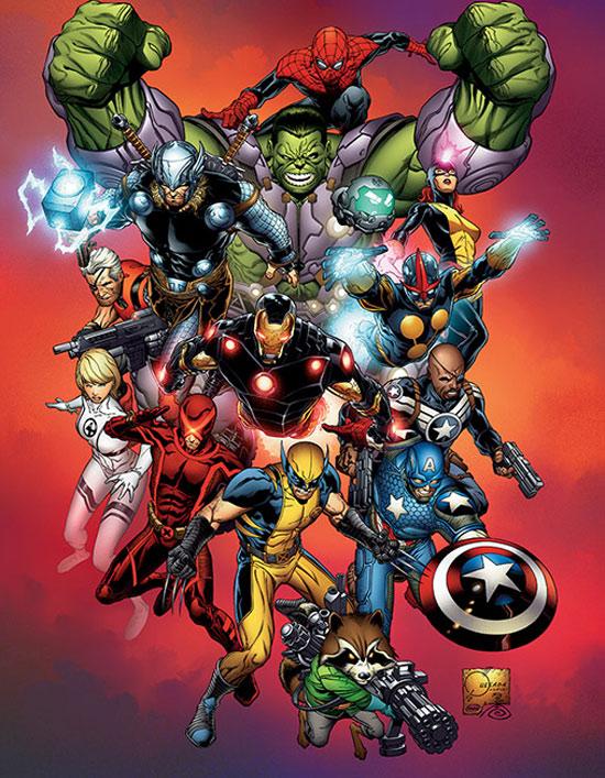 Superhero Week: Marvel NOW!