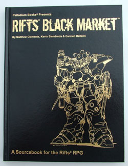 Rifts Black Market hardcover Gold Edition