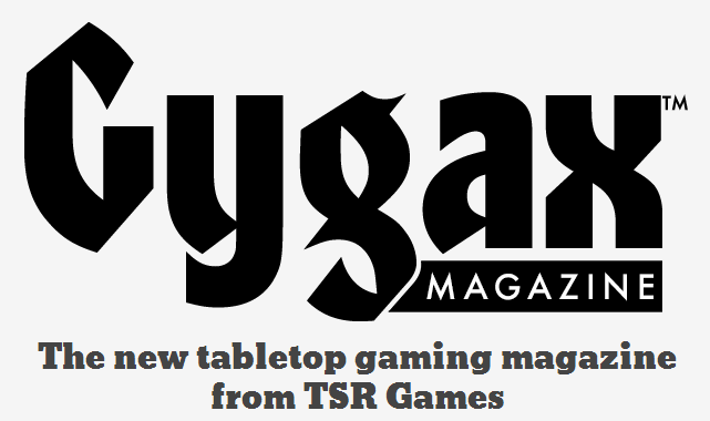 Is there conflict between the 'Gary Gygax Estate' and new Gygax Magazine?