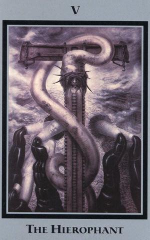 HR Gigers Tarot of the Underworld