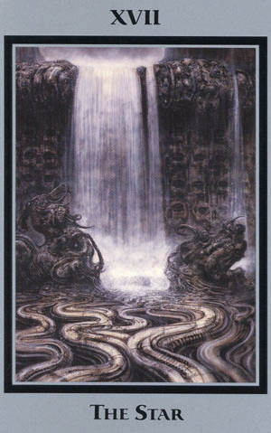Baphomet: Tarot of the Underworld-Akron/H.R. Giger OOP