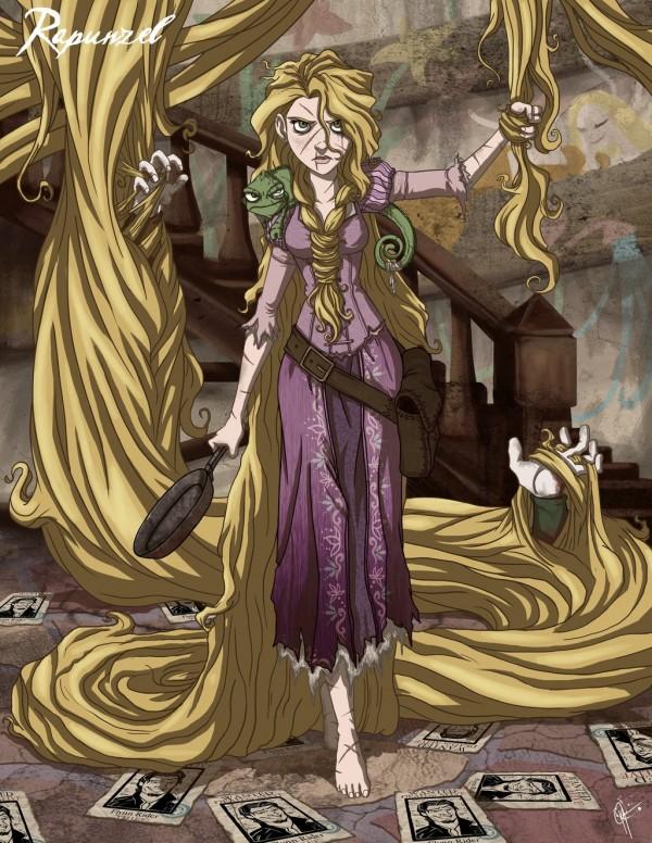 Twisted Rapunzel